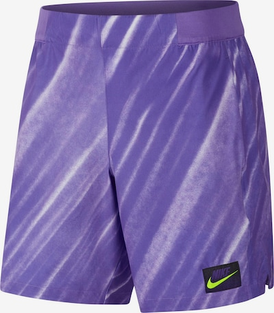 NIKE Funktionsshort 'M NKCT FLX ACE NY NT AOP' in dunkellila, Produktansicht