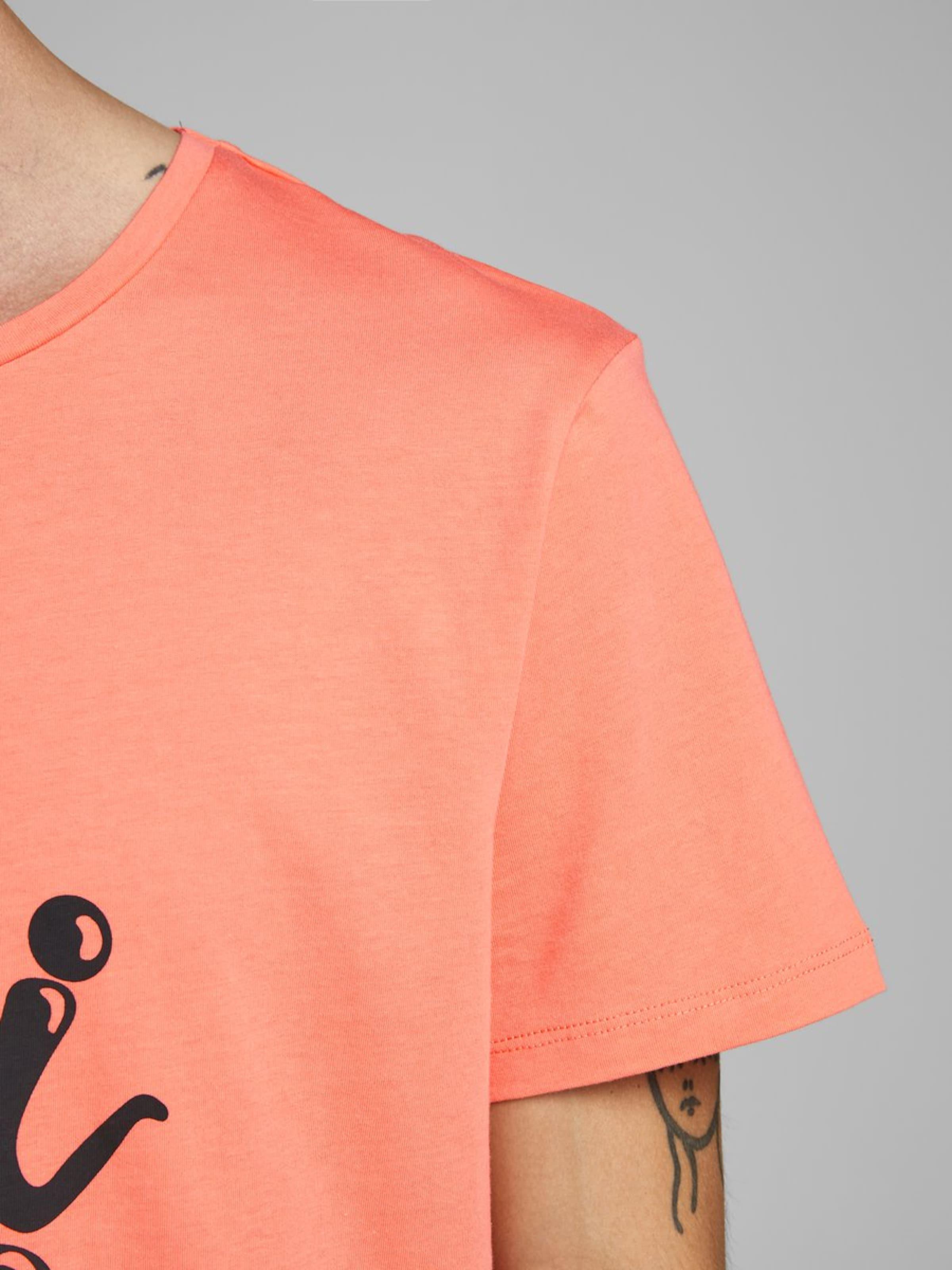 Jones shirt In Schwarz HellgrünLachs T Jackamp; vYybgIf76
