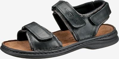 JOSEF SEIBEL Sandale 'Rafe' in schwarz, Produktansicht