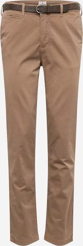 Pantalon chino 'JJIROY JJJAMES' JACK & JONES en beige