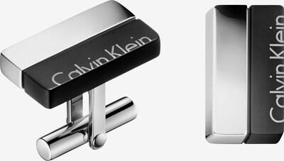 Calvin Klein Manschettenknöpfe in schwarz / silber, Produktansicht