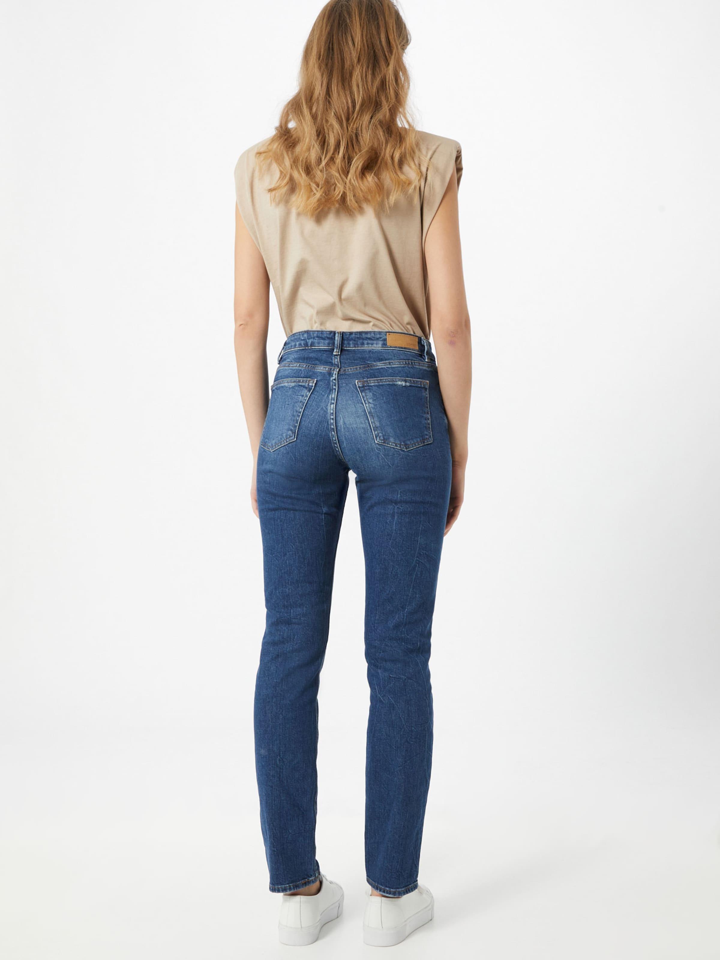 ESPRIT Jeans i mörkblå