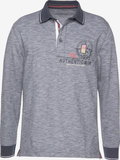 Man's World Poloshirt in marine / mischfarben, Produktansicht