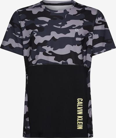 Calvin Klein Shirt in grau / schwarz, Produktansicht