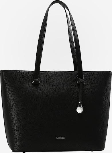 L.CREDI Shopper 'Maxima' in schwarz, Produktansicht