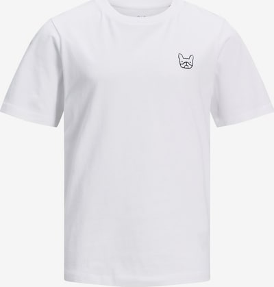 Tricou 'JJEDENIM LOGO TEE SS O-NECK' Jack & Jones Junior pe alb, Vizualizare produs