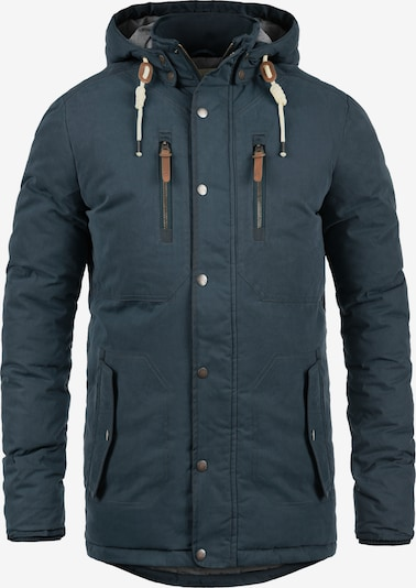 !Solid Winterjacke 'Dry Jacque' in blau: Frontalansicht
