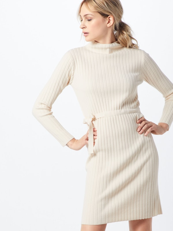 Fashion Union Kleid 'SPECIES' in beige: Frontalansicht