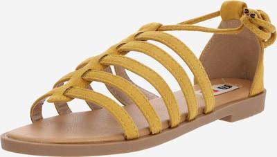 MTNG Sandalen met riem 'PALMIRA' in de kleur Mosterd, Productweergave