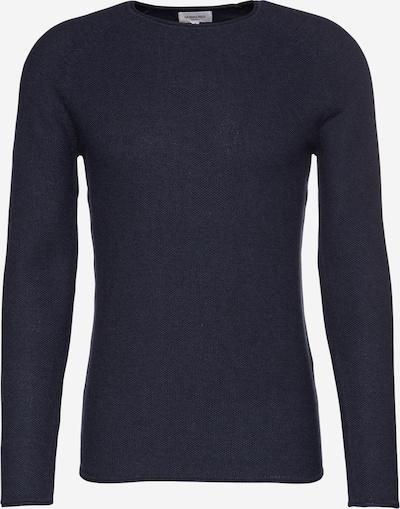 NOWADAYS Pullover 'The Honeycomb Crew Neck' in dunkelblau, Produktansicht