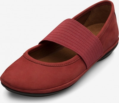 CAMPER Ballerinas 'Right Nina' in merlot: Frontalansicht