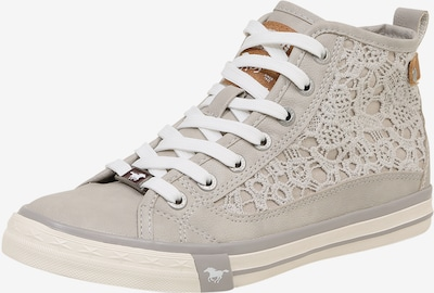 MUSTANG Sneaker 'Macrame' in hellgrau, Produktansicht