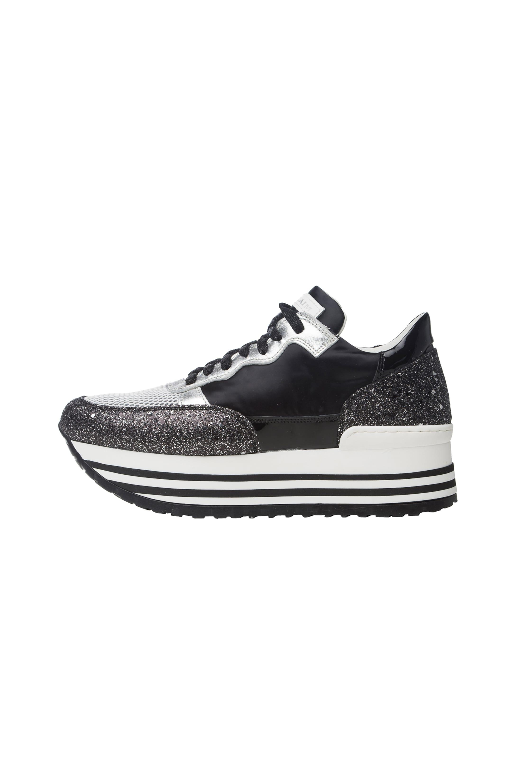 Sneaker Noclaim 1' SchwarzSilber Weiß In 'marta fY76vIbyg