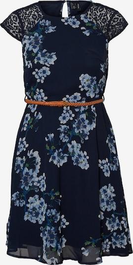 VERO MODA Kleid in blau / navy / hellblau / grün, Produktansicht