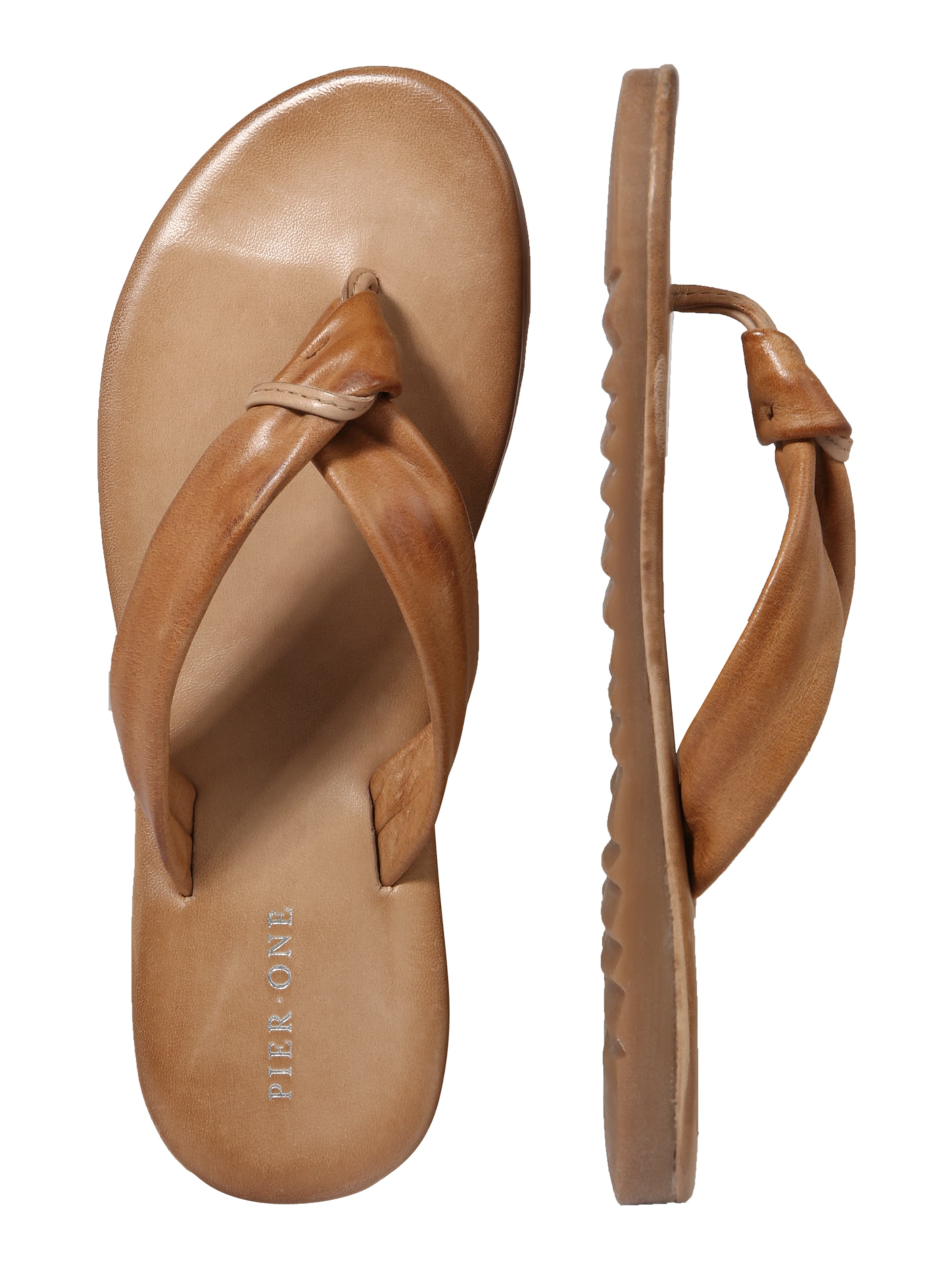 Pier One Slipper Cognac 'girby 8y' In EH9IW2D