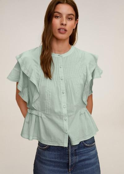 Bluză MANGO pe verde, Vizualizare model