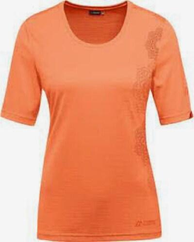 Maier Sports Shirt ' Irmi ' in orange, Produktansicht