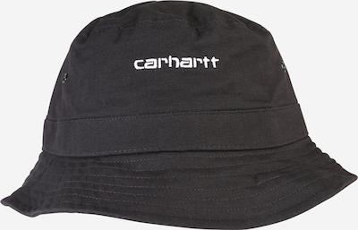 Carhartt WIP Chapeaux 'Script Bucket Hat' en noir, Vue avec produit