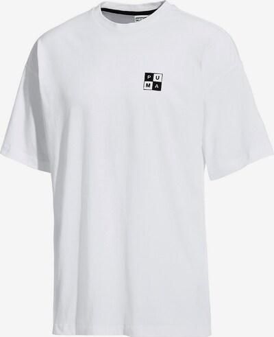 PUMA Shirt 'Checkboard' in weiß, Produktansicht