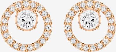 Swarovski Øreringe i rosa guld / hvid, Produktvisning
