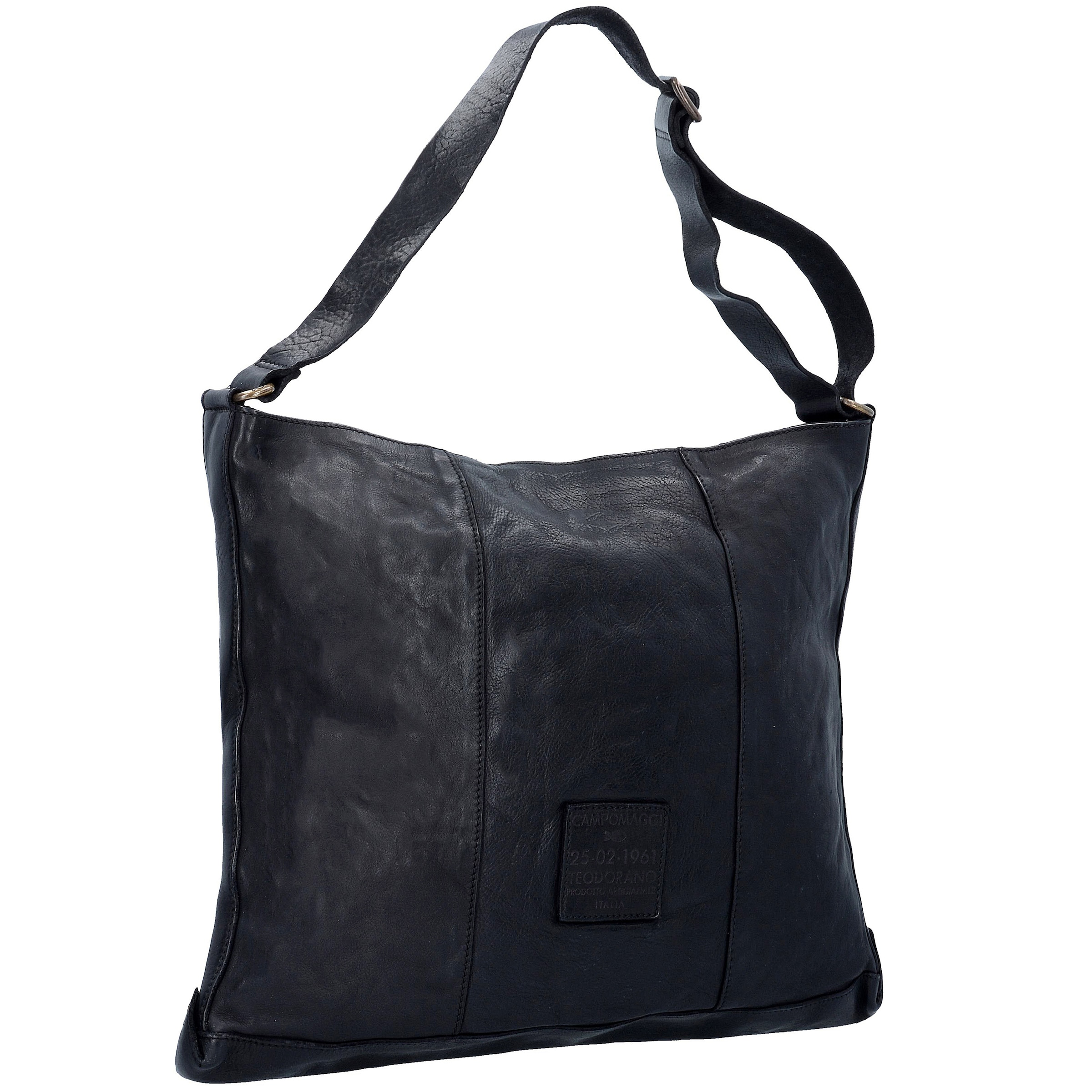 Edera Leder In Cm Tasche 45 Schwarz Prestige Shopper Campomaggi nvwOm0N8