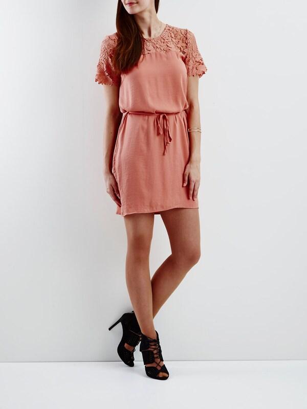 VILA Spitzen-Kleid