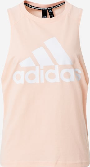 ADIDAS PERFORMANCE Sporttop 'W BOS CO' in de kleur Pastelroze / Wit, Productweergave