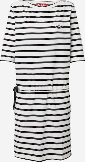 Derbe Kleid in creme / schwarz, Produktansicht