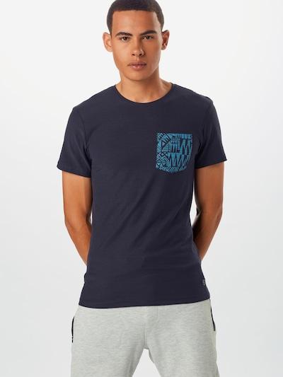 BLEND T-Shirt en bleu marine: Vue de face