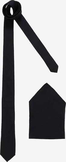 Esprit Collection Cravate 'seersucker set' en bleu marine, Vue avec produit