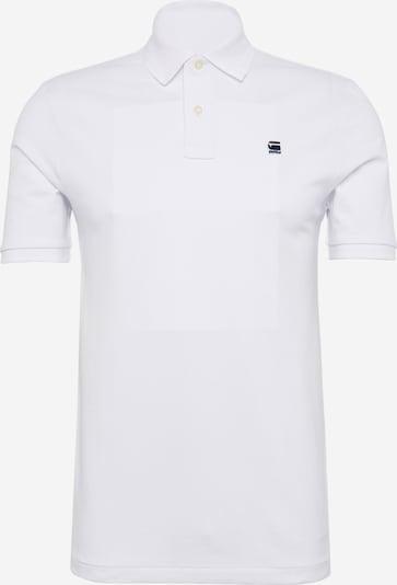 G-Star RAW Poloshirt 'Dunda' in weiß, Produktansicht