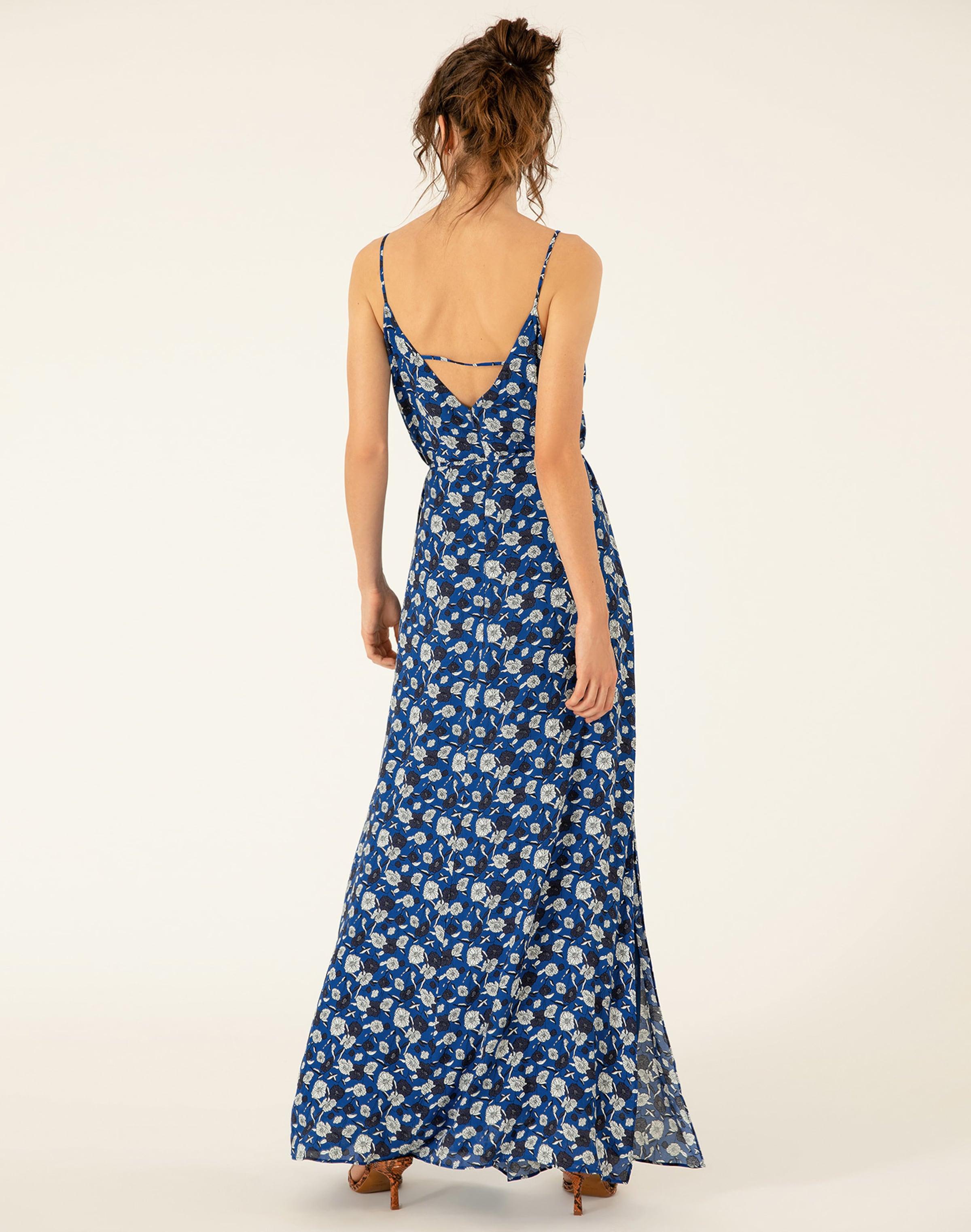 Maxi Ivyamp; Kleid Oak BlauWeiß In R3Aj4q5L