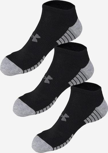 UNDER ARMOUR Athletic Socks in Grey / Black, Item view