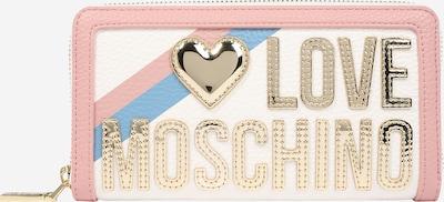 Love Moschino Peněženka 'Pebble' - modrá / zlatá / růžová / bílá, Produkt