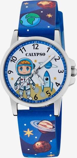 CALYPSO WATCHES Quarzuhr 'Junior Collection' in blau / mischfarben / silber, Produktansicht