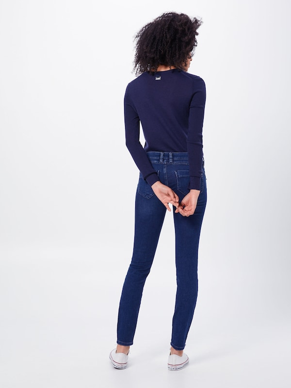 Gang Jean 'NIKITA - jolly sweat Skinny' en bleu denim: Vue de dos