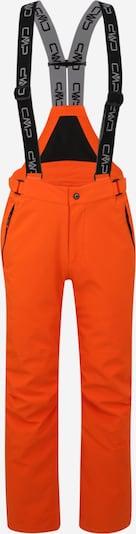 CMP Pantalon outdoor en rouge orangé, Vue avec produit