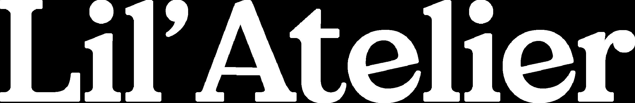 Lil ' Atelier Kids Logo