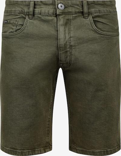 Redefined Rebel Jeansshorts 'Morton' in oliv, Produktansicht
