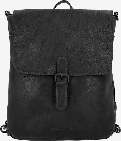 Harold's Rucksack 'Johan P' in schwarz, Produktansicht