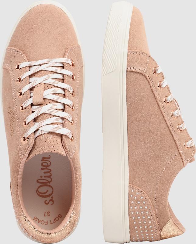 Chaussures À Lacets S.oliver Noir Étiquette Rouge 9Fq9nvig