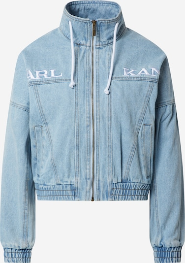 Karl Kani Jacke 'KK RETRO SUPERLIGHT DENIM JACKET' in blue denim, Produktansicht