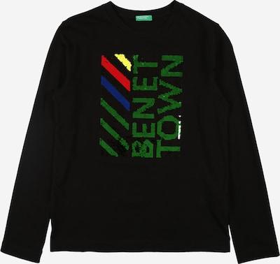 UNITED COLORS OF BENETTON Shirt in navy / gelb / grasgrün / rot / schwarz, Produktansicht