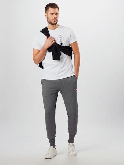 DIESEL Jogginghose 'Peter' in grau, Modelansicht