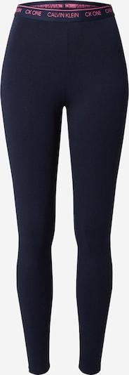 Pantaloni de pijama Calvin Klein Underwear pe albastru închis, Vizualizare produs