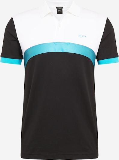 BOSS ATHLEISURE Koszulka 'Paule 3' w kolorze niebieski / czarny / białym, Podgląd produktu