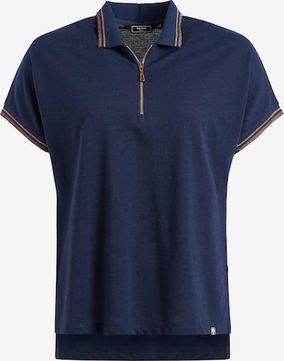 khujo T-shirt ' VELDA ' en bleu, Vue avec produit