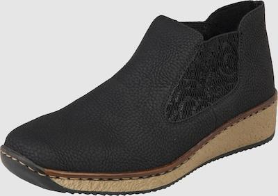 RIEKER Chelsea boots in Zwart