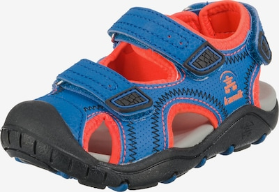 Kamik Outdoorsandalen 'Seaturtle2' in blau / neonorange, Produktansicht