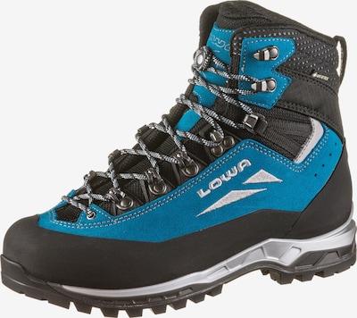 LOWA Alpine Bergschuhe 'CEVEDALE EVO' in blau / türkis / anthrazit / schwarz / silber, Produktansicht